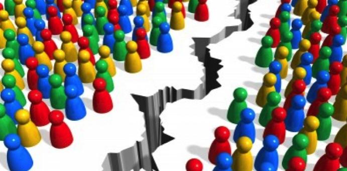 Social media fragmentation
